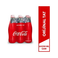 COCA COLA CAM 6X250 ML.